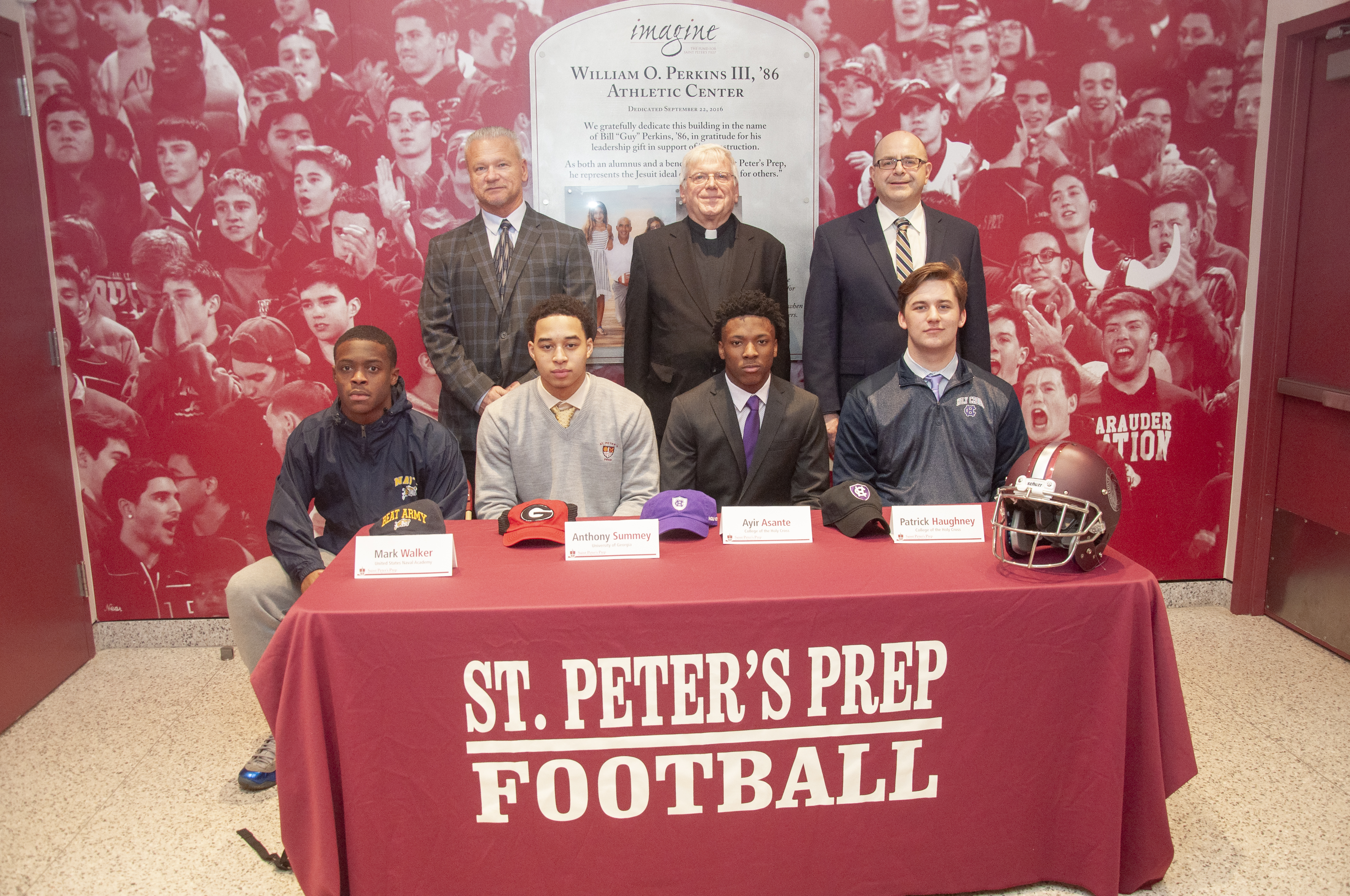 Four College Commitments for Prep Football – Saint Peter's Prep